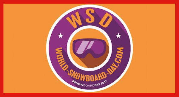 Su 22.1. <strong>World Snowboard Day</strong>