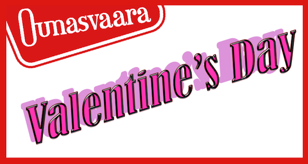 Tue 14.2. <strong>Valentine's Day</strong>