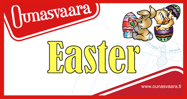 Fri-Mon 14.-17.4. <strong>Easter</strong>